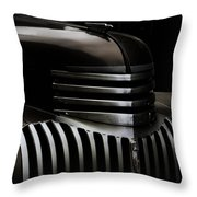 Night Grille Throw Pillow by Ken Smith