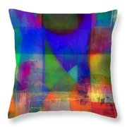 Night Into Day Throw Pillow
