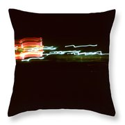 Night Lights Holiday Inn 2 Throw Pillow