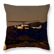 Night Mission Throw Pillow