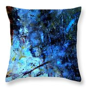 Night Mist Throw Pillow
