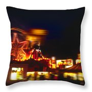 Night Moves 2 Throw Pillow
