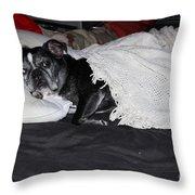 Night Night Time Throw Pillow
