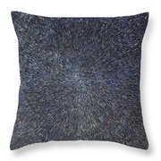 Night Radiation  Throw Pillow