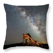 Night Shift Throw Pillow