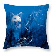 Night Sonata Throw Pillow