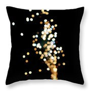 Night Sparkle Throw Pillow