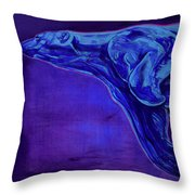 Night Swimmer Throw Pillow