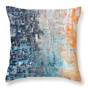Night To New Day Throw Pillow