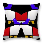 Night Watch Throw Pillow by Charles Stuart