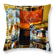 Nightcap 2 Throw Pillow