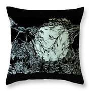 Nightingale Song. Part Three Throw Pillow