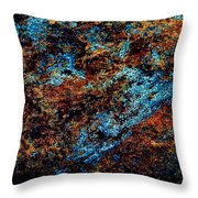 Nightlife - Abstract Panorama Throw Pillow