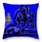 Nightly Longing Throw Pillow