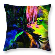Nightly Rendezvous Throw Pillow