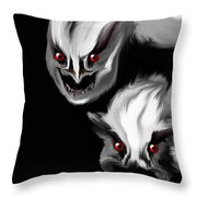 Nightmare Companions Throw Pillow