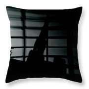 Nights Broken Glass Throw Pillow
