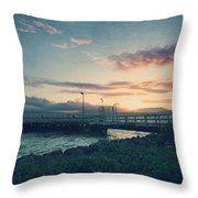 Nights Like These Throw Pillow