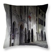 Nightscape. Iseo Throw Pillow