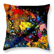Nighttown I Throw Pillow
