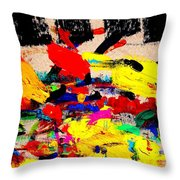 Nighttown Music Throw Pillow