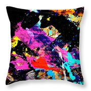 Nighttown Xii Throw Pillow