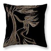 Nightwind Throw Pillow