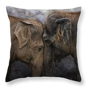 Nighty Night Darling Throw Pillow by Joachim G Pinkawa