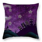 Nighty Night Throw Pillow