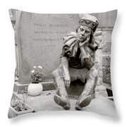 Nijinsky In Paris Throw Pillow
