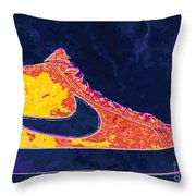 Nike Blazers 4 Throw Pillow by Alfie Borg