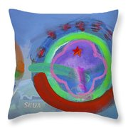 Nine Eleven Image Throw Pillow