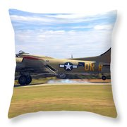 Nine - O - Nine Arriving Throw Pillow