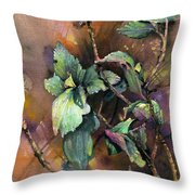 Ninebark Throw Pillow