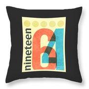 Nineteen 64 Throw Pillow