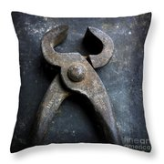 Nippers Throw Pillow
