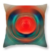 Nirvana - Energy Art By Sharon Cummings Throw Pillow
