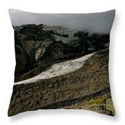 Nisqually Glacier Throw Pillow