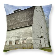 Nisqually National Wildlife Refuge Barn Throw Pillow