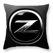 Nissan Z Throw Pillow