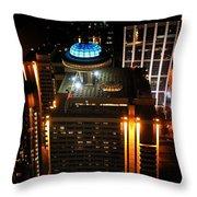 Nite Light 3 Throw Pillow