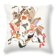 No. 1023 Throw Pillow