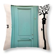 No. 13 Throw Pillow