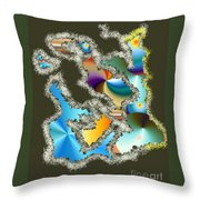 No. 241 Throw Pillow
