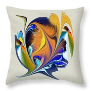 No. 400 Throw Pillow