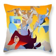No. 625 Throw Pillow