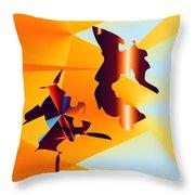 No. 640 Throw Pillow