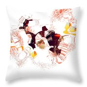 No. 704 Throw Pillow