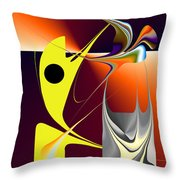 No. 726 Throw Pillow