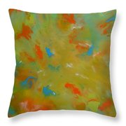 No 75 Throw Pillow